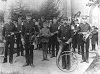 Whitby Brass Band group photo: 1885