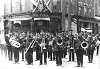 Whitby Brass Band group photo: 1904