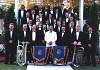 Whitby Brass Band group photo: 1994